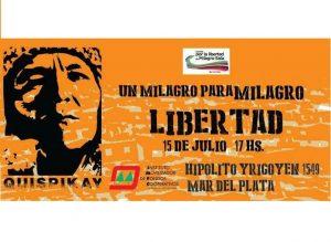 Muestra Artística por la libertad de Milagro Sala en Mar del Plata