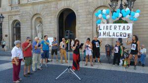 Nuevo acto en Barcelona pidiendo la liberación de Milagro Sala