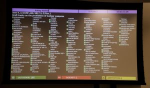 Rapid ratification of the treaty on the prohibition of nuclear weapons needed