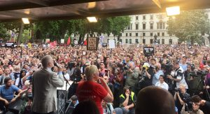 The UK marches against austerity