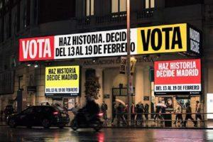 Madrid laboratorio di democrazia