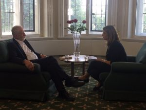 Jeremy Corbyn talks with Naomi Klein about creating a better world