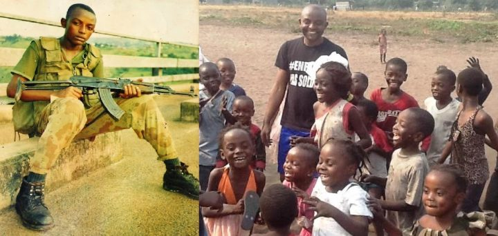 Junior Nzita, ex child soldier: defeat the evil with the good
