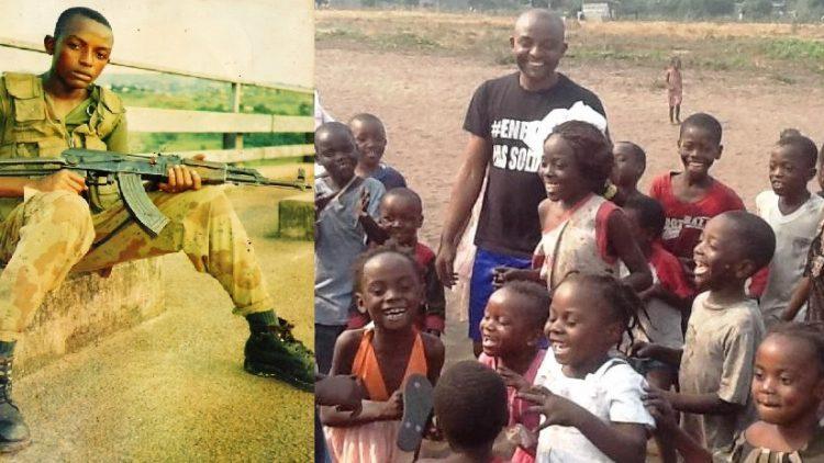 Junior Nzita, ehemaliger Kindersoldat: das Böse mit dem Guten besiegen