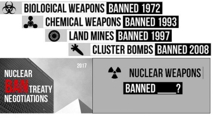 New York: presentata la terza bozza del Trattato per il Bando delle Armi Nucleari