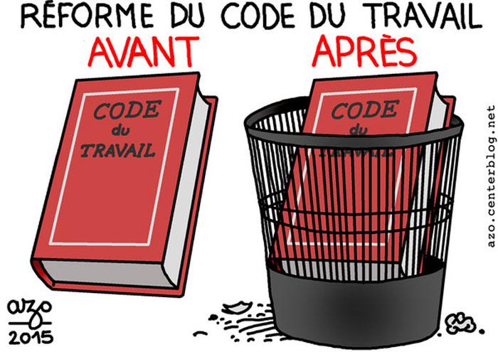 France. Réforme du code du travail : un coup d'état social annoncé