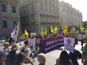 Madrid despide la caravana que parte a la Frontera Sur