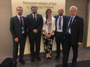 """Senzatomica e Rete Disarmo incontrano Missione italiana a New York: """"Italia segua il percorso ONU di disarmo nucleare"""""""