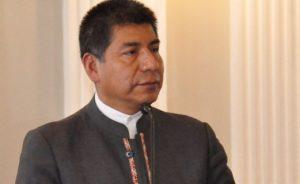 """""""Bolivia propone no sólo quitar visas sino eliminar muros"""" Canciller Huanacuni"""