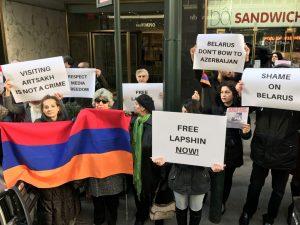 Azerbaigian: Tre anni di carcere al blogger russo-israeliano per aver visitato il Karabakh