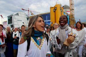 Pulsation pour la paix à Berlin avec Yael Deckelbaum
