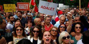 Turchia, si conclude la Marcia per la giustizia