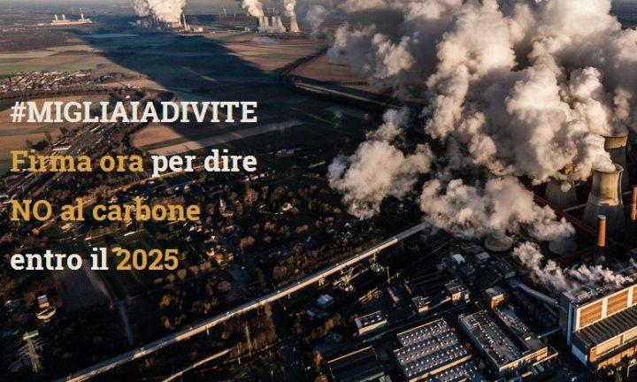 Le associazioni ambientalista promuovono stopcarbone2025