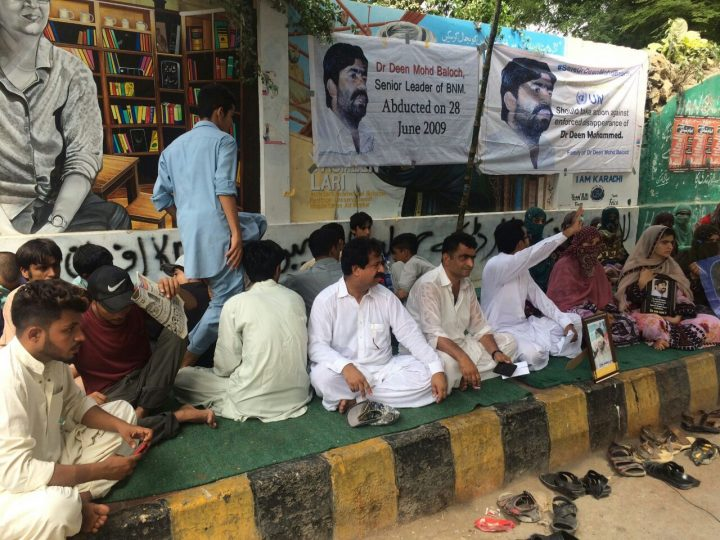 Enforced disappearances continue in Pakistan