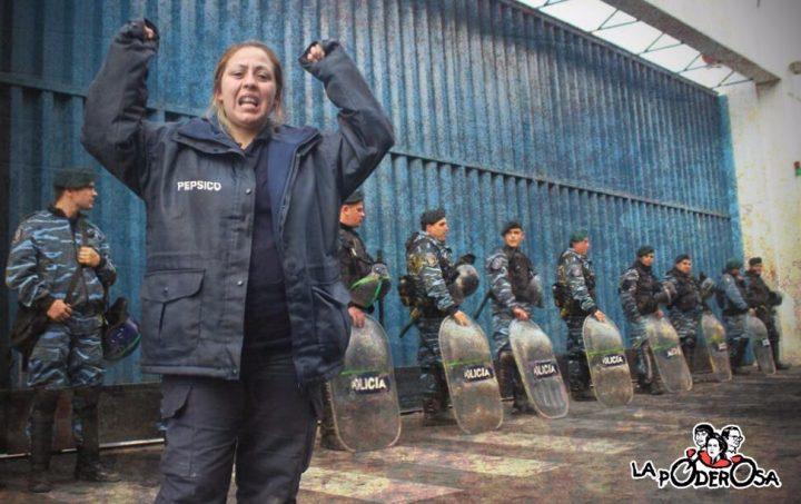 """""""Estamos de pie"""" Vanina Roda, delegada de Pepsico"""