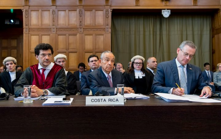 Costa Rica / Nicaragua: conclusión de audiencias orales este 13 de julio ante la Corte Internacional de Justicia (CIJ)