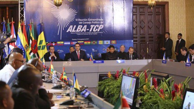 Die Mitgliedstaaten von ALBA-TCP lehnen US-Sanktionen gegen Venezuela ab und fordern Dialog