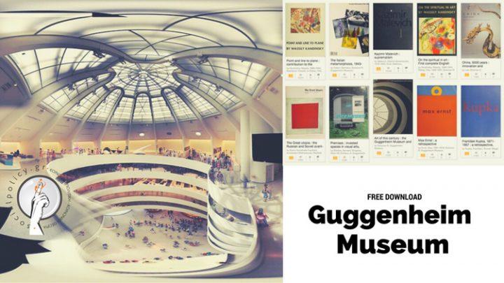 205 δωρεάν βιβλία τέχνης του Μουσείου Γκούγκενχαϊμ