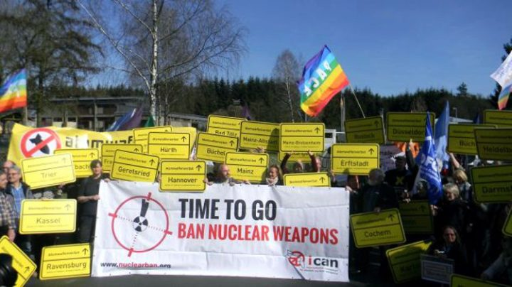 SPD-Kanzlerkandidat fordert Abzug der US-Atomwaffen aus Deutschland