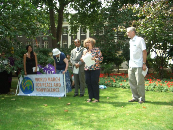 Hiroshima Day 2009: Launch of the World March for Peace and Nonviolence