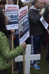 Santiago Maldonado scomparso da tre settimane in Argentina