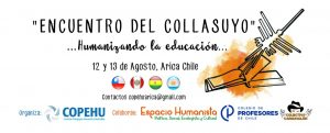 Arica: Encuentro por educación humanizadora
