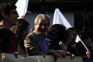 Marcha de la Decencia de profesores chilenos