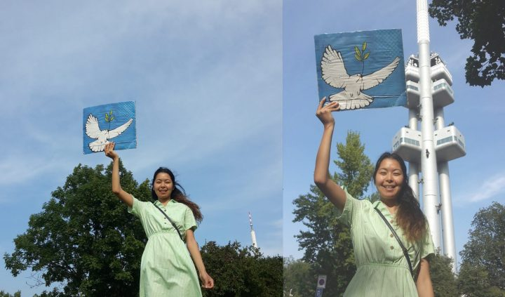 August 12: reach HIGH for a nuclear-weapon-free world!