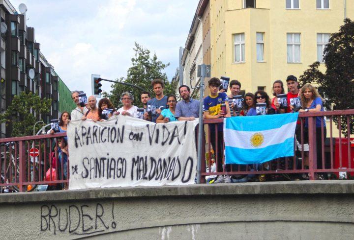 ¿Dónde está Santiago Maldonado? Manifestaciones en todo el mundo