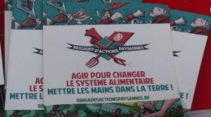 Esperanzah : rencontre avec Dounia, brigadiste des « Brigades d'Actions Paysannes »