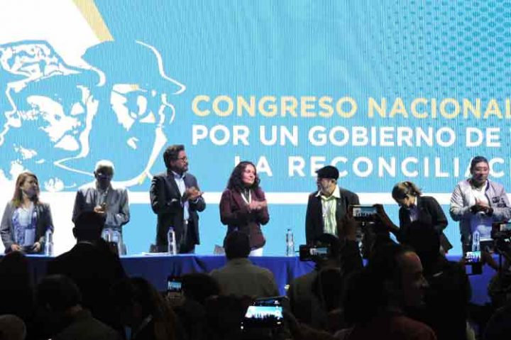 The FARC arrives at Congress to become a political party