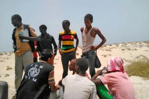 El golfo de Adén se tiñe del rojo de migrantes lanzados al mar