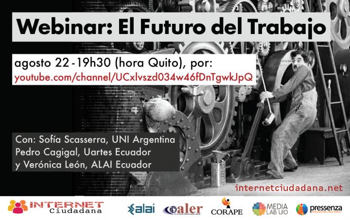 Campaña Internet Ciudadana: Webinar El futuro del trabajo