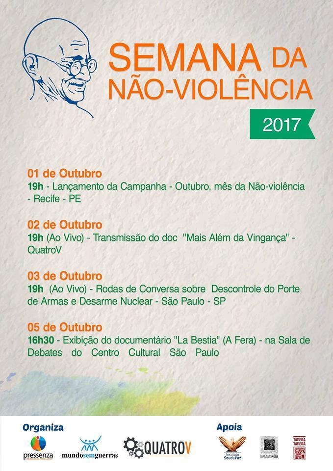 Semana da Não Violência 2017