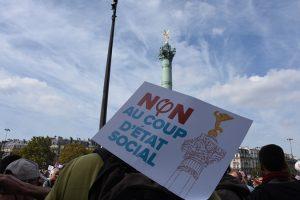 Manifestations contre le « coup d'Etat social », un pari réussi
