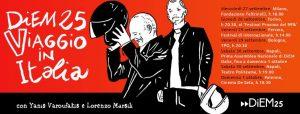 Viaje a Italia con Diem25 y Yanis Varoufakis. Seis hitos antes de las elecciones europeas de 2019