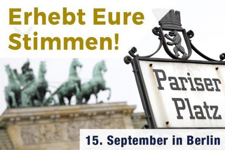 """""""Wir stimmen ab"""" mit Unterstützung durch das Berliner STEGREIF-Orchester"""