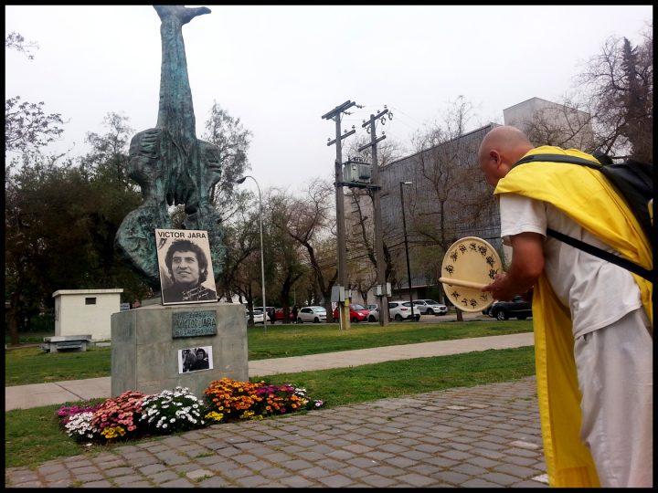 Chile: Marcha por la Paz y homenaje a Víctor Jara