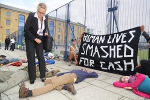 Broad coalition escalates campaign against London arms fair