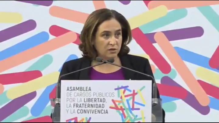 Ada Colau pide ayuda a la UE para mediar el conflicto CAT/ESP
