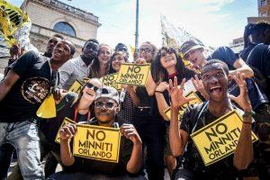 Los migrantes del Cuartel Montello no son paquetes postales