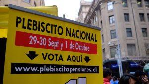 Χιλή: δημοψήφισμα για αξιοπρεπείς συντάξεις