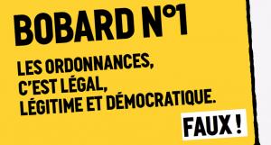 « Petit guide de résistance à la loi Travail XXL » : [2/9]  Les ordonnances, c'est légal, légitime et démocratique !