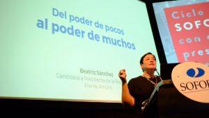Beatriz Sánchez: Del poder de pocos al poder de muchos