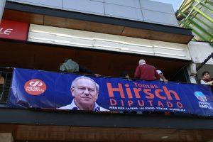 Tomás Hirsch inaugura sede distrital de campaña