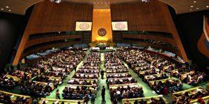 Il Trattato Sulla Proibizione delle Armi Nucleari alla firma dei leader mondiali