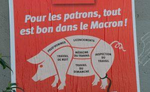 In solidarietà ai lavoratori francesi