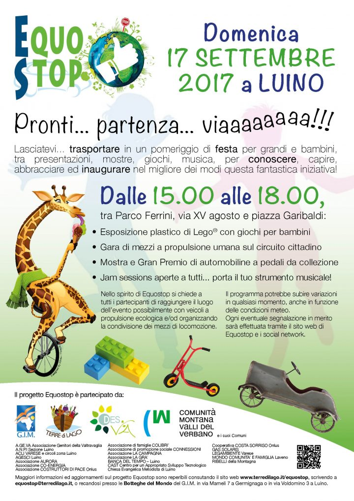 Mobilità sostenibile nel Luinese: un'esperienza unica in Italia con Equostop