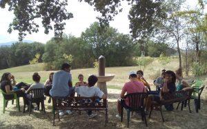Incontro dei giovani al Parco di Studio e Riflessione