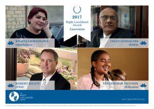 Il Premio Right Livelihood 2017 celebra gli artefici e ispiratori del cambiamento e i campioni della giustizia